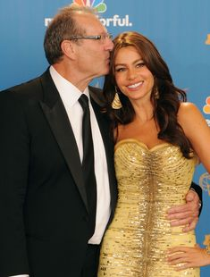 "Ed O'Neill and Sofia Vergara, ""Modern Family"""