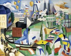 File:André Lhote, 1913-14, Port de Bordeaux-Poincaré, 14 juillet, oil on canvas, 65 x 81.5 cm.jpg