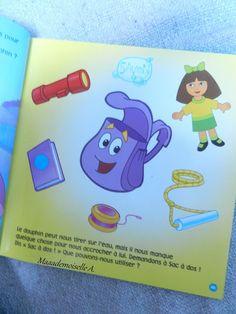 || Dora l'exploratrice : Les merveilleuses aventures de Dora (Présentation & Avis)(Chut, les enfants lisent #23)