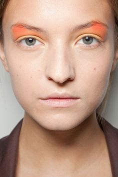 Beauty at Peter Som Spring/Summer 2013