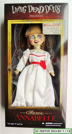 Living Dead Dolls Annabelle The Conjuring Brand New - HORROR #Mezco #Dolls