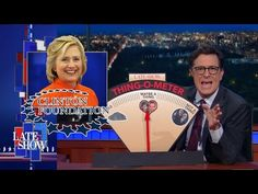 The Clinton Foundation Email Scandal: Is It A Thing? | Stephen breaks out The Late Show's Thing-O-Meter to test whether Hillary Clinton's latest email scandal is really a thing, or not.