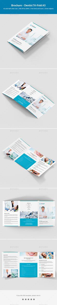 Spa Bifold / Halffold Brochure 10 Brochures, Brochure template and - half fold brochure template