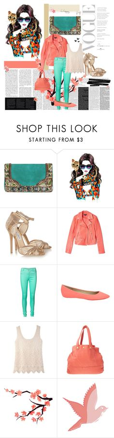 """""""That's better :-)"""" by qmaxine ❤ liked on Polyvore featuring Matthew Williamson, Kenzo, Jimmy Choo, Theory, Vero Moda, Joe's Jeans, Jack Wills, Jérôme Dreyfuss, Aerie and red flower"""