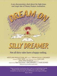 Walt Disney Animation, Happy Endings, The Dreamers, Documentaries, Fairy Tales, Movie Posters, Film Poster, Fairytale, Popcorn Posters