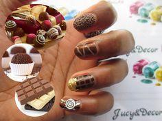 NAIL ART CHOCOLATE DAY