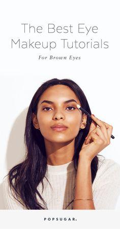 15 Makeup Tutorials That Will Make You Love Your Brown Eyes 15 Make-up-Tutorials, mit denen Si Brown Eye Makeup Tutorial, Makeup Tutorial Foundation, Makeup Tutorial Eyeliner, No Foundation Makeup, Eye Makeup Tips, Smokey Eye Makeup, Makeup For Brown Eyes, Makeup Ideas, Makeup Eyeshadow