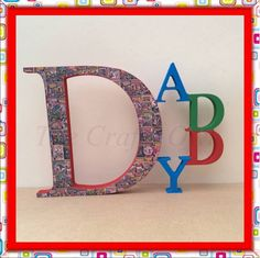 Name Letters, 3 Letter, Symbols, Hand Painted, Colours, Lettering, Facebook, Painting, Art