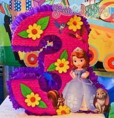 Piñata Hello Kitty, Princess Sofia Birthday, How To Make Pinata, Princesa Sophia, Sofia Party, Ideas Para Fiestas, Diy Party, Princess Peach, To My Daughter