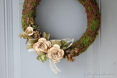 Summer-Faux-Succulent-Wreath