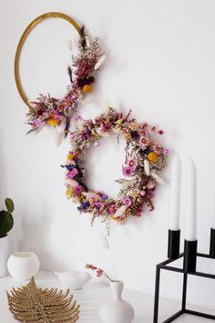 Diy Wedding Flowers, Flower Bouquet Wedding, Diy Flowers, Deco Boheme Chic, Natal Diy, Dried Flower Wreaths, Fleurs Diy, Deco Nature, Deco Floral