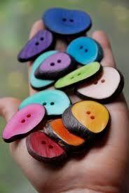 Boutons de noix de tagua (ivoire vegetal) - utilisées chez créations koal'art