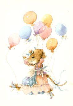 Vera the Mouse ~ Marjolein Bastin