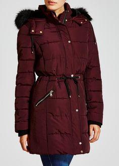 7af4d1624b63 matalan Long Padded Coat Long Puffer Coat