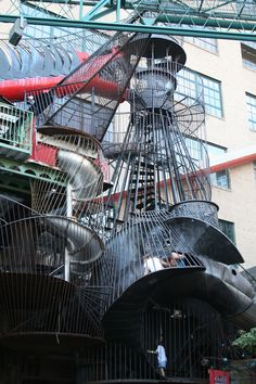 Kids and adults will absolutely love the City Museum in St Louis.