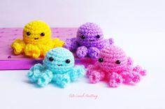 Crochet octopus, amigurumi octopus toy, crochet stuffed animal, crochet plush toy, crochet animals, crochet collectibles, вязаный осьминог by CuteLambKnitting on Etsy