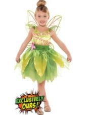 Girls Classic Tinkerbell Costume-Party City