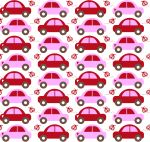 Auto Love inspired by C.Gabor - very cute fabric!