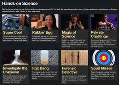 Science videos at BBC (thru-link)