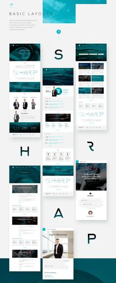 SHARP on Behance