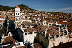 The city of Sucre is the Constitutional Capital of Bolivia