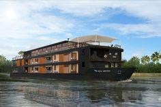 Boutique hotel meets river cruise.  Sign me up! www.aquaexpeditions.com