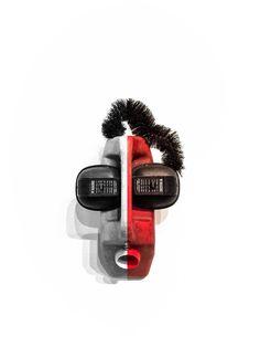 "Kakumei - Packshot - ""Romuald azumè - Ear splitting"" #packshot #photoart #mask #freebies"