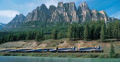 Canadian Rockie Train Ride