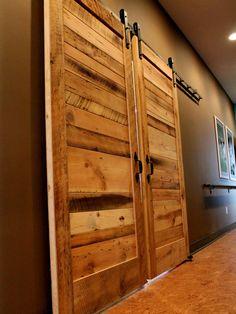 Wood door idea