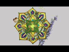 Mandala: Colores para el Alma - YouTube Gods Eye, Yin Yang, Macrame, Projects To Try, Clock, Youtube, Crochet, Videos, Eyes
