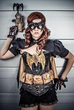 Comic Con 2013 - Steampunk batgirl | Flickr: Intercambio de fotos