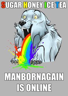 ManBornAgain is ONLINE