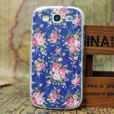 Fashion Beautiful Tower Flower Lip Cartoon Girl Patterns Hard Back Skin Case Cover For Samsung S3 III I9300 EC287 EC239