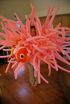 sea anemone & nemo. perfect Halloween costume!