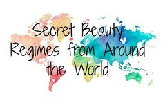 Secret Beauty Regimes from Around the World The world is a huge place full of beauty secrets just waiting for their big reveal. Some of these beauty secrets, such as Moroccan Oil from Morocco for shiny and healthy hair, have taken the world by storm! Many other countries have their own beauty secrets that you can try in your own home! C...  Read More at http://www.chelseacrockett.com/wp/beauty/secret-beauty-regimes-from-around-the-world/.  Tags: #Australia, #Beauty