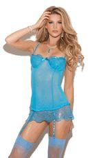 Sheer Lingerie Stretch Mesh Babydoll. #lingerie #sexylingerie #babydolls www.flirtylingerie.com $36.99