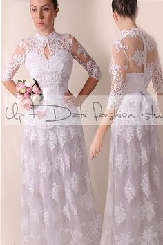 Wedding dress / royаl elegans/ /Recepion/ long by UpToDateFashion