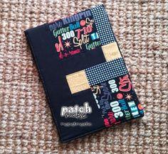 Funda tablet en negro | Patchmake. Blog de patchwork