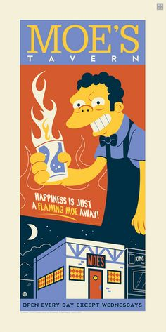 thecoolsumist: Dave Perillo Simpsons Series | Must be printed