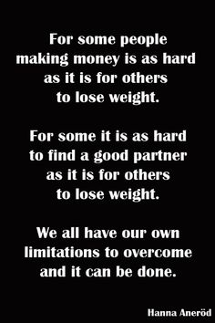find it hard to lose weight