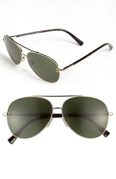 1770a1f35be Valentino 57mm Metal Aviator Sunglasses available at  Nordstrom Valentino  Sunglasses