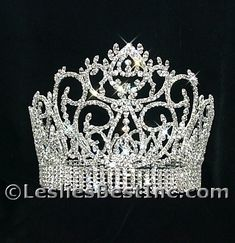 Beauty Pageant Award Crown (Gold or Silver). E wholesale tiaras.com - USD $160.99