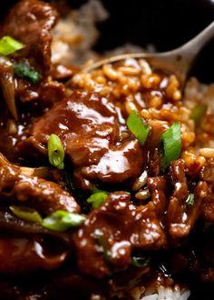 Veal Recipes, Lamb Recipes, Cooking Recipes, Curry Recipes, Chinese Cooking Wine, Asian Cooking, Chinese Food, Mongolian Lamb Recipe, Mongolian Beef