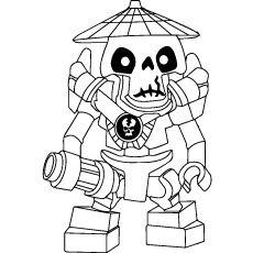 lego ninjago lord garmadon ausmalbild | ninjago coloring