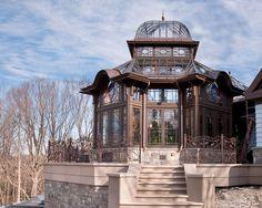 Custom conservatory in Montgomery county, Pennsylvania