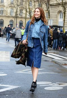 Denim on Denim Done Right - Gallery - Style.com