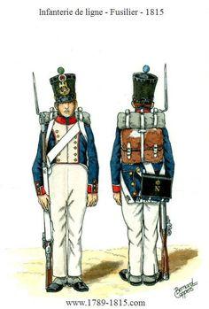 1789-1815 Infanterie de ligne 1815