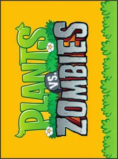 Plants vs Zombies: Free Printable Cards or Invitations. | Oh My ...