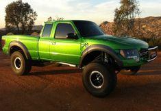 Ford Ranger Off-Road Fiberglass Body Panels