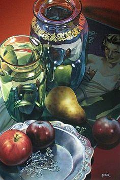 Silver Plate - Gary Cody (Canadian Artist)